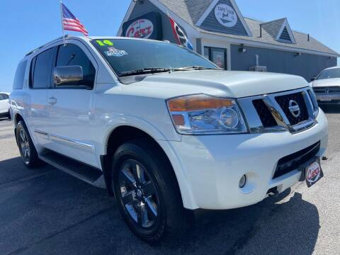2014 Nissan Armada for sale at Cape Cod Carz in Hyannis MA