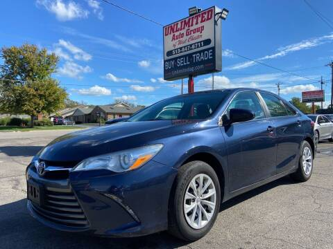 2015 Toyota Camry for sale at Unlimited Auto Group in West Chester OH