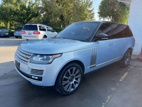 2015 Land Rover Range Rover for sale at EXPO AUTO GROUP in Perry OH