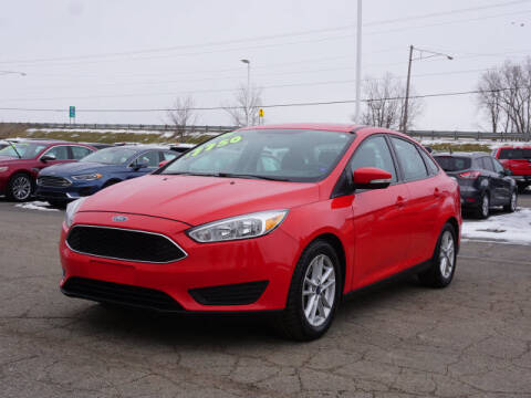 2016 Ford Focus for sale at FOWLERVILLE FORD in Fowlerville MI