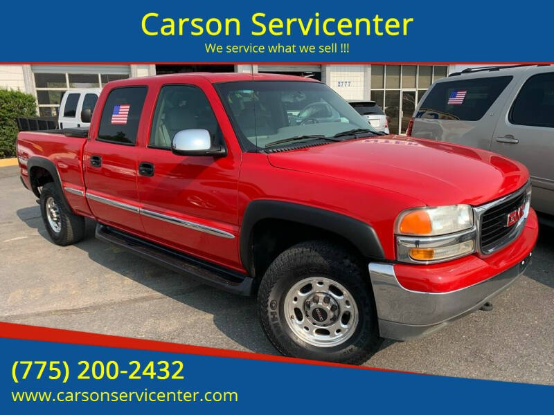 2002 GMC Sierra 1500HD for sale at Carson Servicenter in Carson City NV