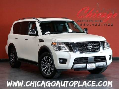 2018 Nissan Armada for sale at Chicago Auto Place in Bensenville IL