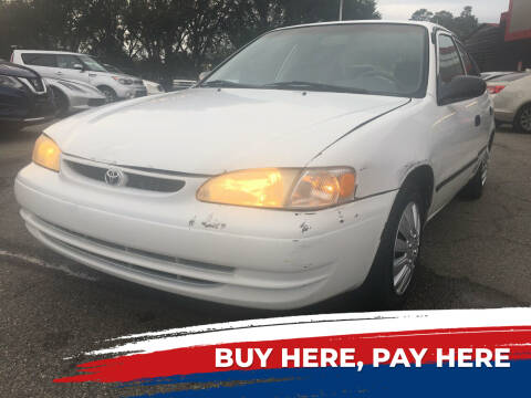 2000 Toyota Corolla for sale at Capital City Imports in Tallahassee FL