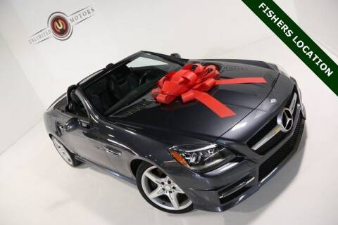 2014 Mercedes-Benz SLK for sale at Unlimited Motors in Fishers IN