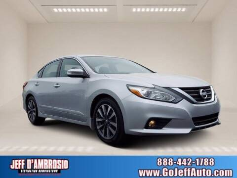 2016 Nissan Altima for sale at Jeff D'Ambrosio Auto Group in Downingtown PA