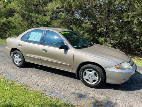 2003 Chevrolet Cavalier for sale at Kansas Car Finder in Valley Falls KS