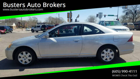 2001 Honda Civic for sale at Busters Auto Brokers in Mitchell SD