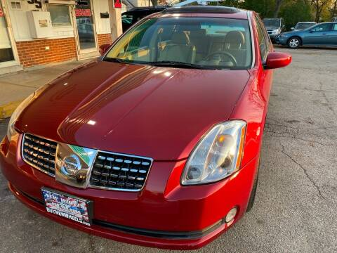 2005 Nissan Maxima for sale at New Wheels in Glendale Heights IL
