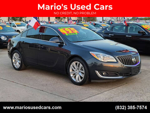 2014 Buick Regal for sale at Mario's Used Cars in Houston TX