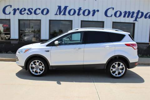 2016 Ford Escape for sale at Cresco Motor Company in Cresco IA