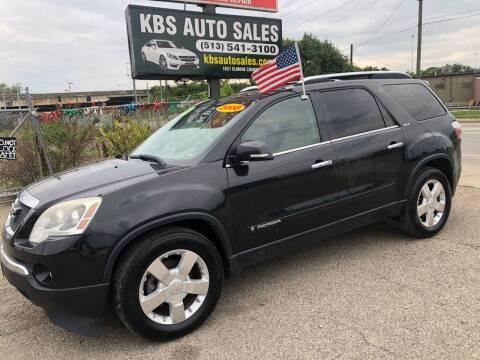 2008 GMC Acadia for sale at KBS Auto Sales in Cincinnati OH