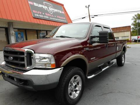 2004 Ford F-350 Super Duty for sale at Super Sports & Imports in Jonesville NC