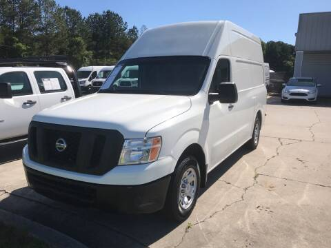 2018 Nissan NV Cargo for sale at Elite Motor Brokers in Austell GA