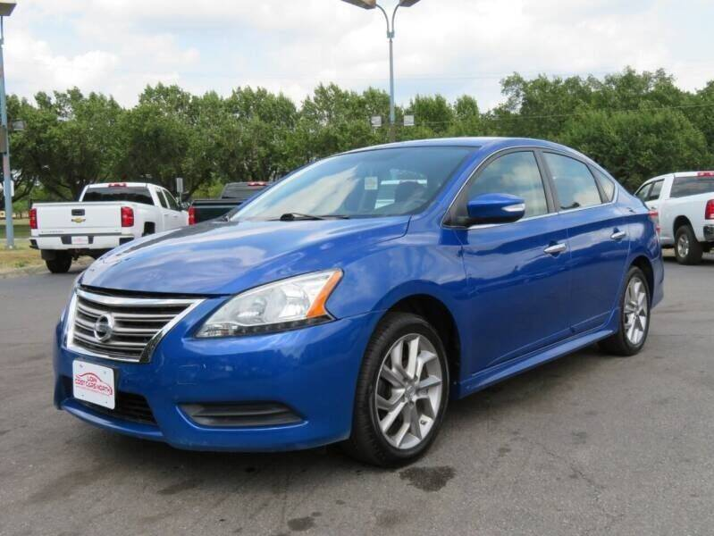 2015 Nissan Sentra for sale at Low Cost Cars in Circleville OH