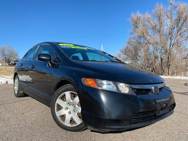 2007 Honda Civic for sale at UNITED Automotive in Denver CO