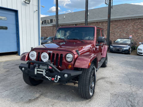 2007 Jeep Wrangler Unlimited for sale at Pulse Autos Inc in Indianapolis IN