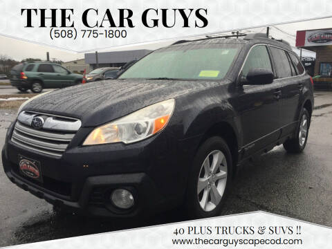 2013 Subaru Outback for sale at The Car Guys in Hyannis MA