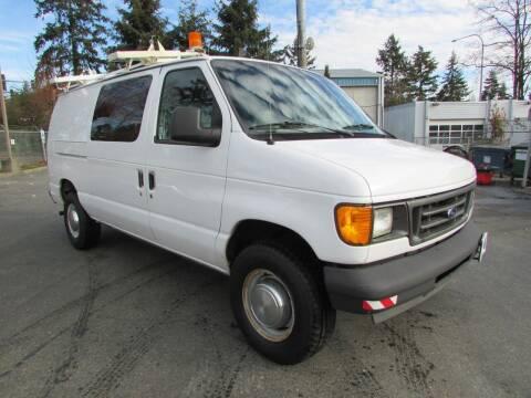 2005 Ford E-Series Cargo for sale at Avilas Auto Sales Inc in Burien WA