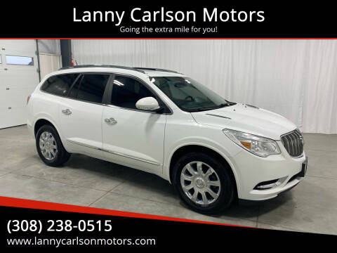 2016 Buick Enclave for sale at Lanny Carlson Motors in Kearney NE