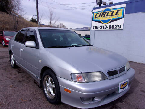 2002 Infiniti G20 for sale at Circle Auto Center in Colorado Springs CO