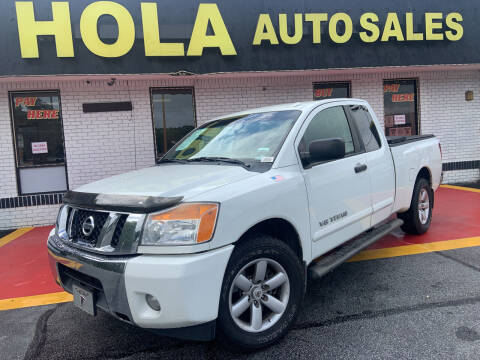 2014 Nissan Titan for sale at HOLA AUTO SALES CHAMBLEE- BUY HERE PAY HERE - in Atlanta GA