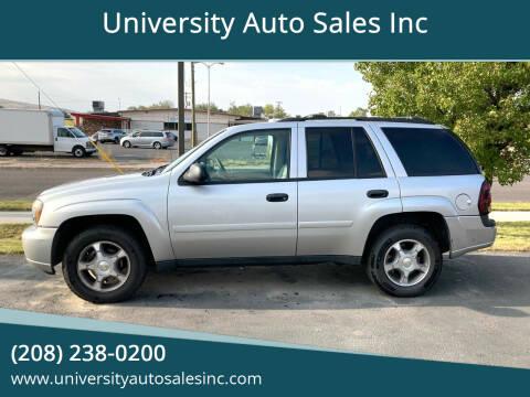 2008 Chevrolet TrailBlazer for sale at University Auto Sales Inc in Pocatello ID