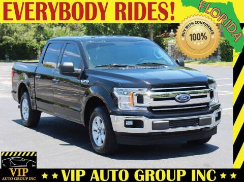2018 Ford F-150 for sale at VIP Auto Group in Clearwater FL