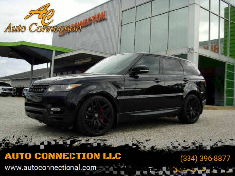2015 Land Rover Range Rover Sport for sale at AUTO CONNECTION LLC in Montgomery AL