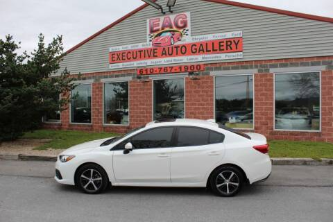 2020 Subaru Impreza for sale at EXECUTIVE AUTO GALLERY INC in Walnutport PA