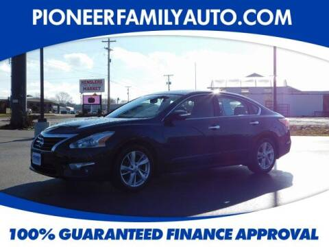 2015 Nissan Altima for sale at Pioneer Family auto in Marietta OH