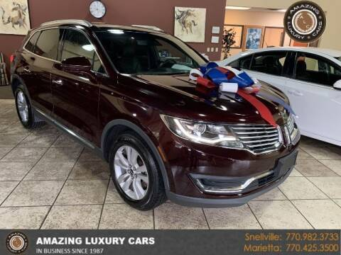 2017 Lincoln MKX for sale at Amazing Luxury Cars in Snellville GA