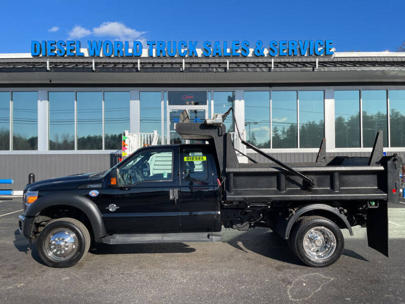 2016 Ford F-550 Super Duty for sale at Diesel World Truck Sales - Dump Truck in Plaistow NH