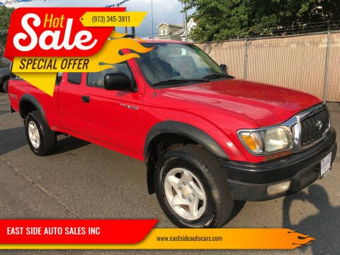 2001 Toyota Tacoma for sale at EAST SIDE AUTO SALES INC in Paterson NJ
