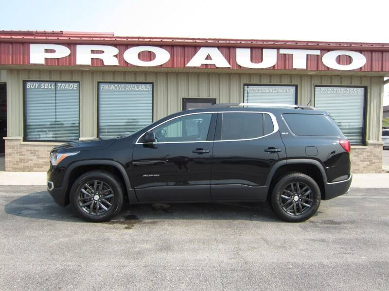 2018 GMC Acadia for sale at Pro Auto Sales in Carroll IA