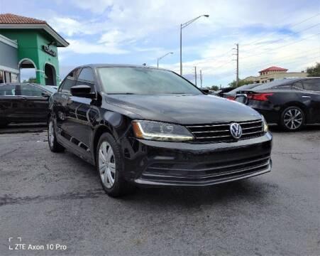 2017 Volkswagen Jetta for sale at Start Auto Liquidation Center in Miramar FL