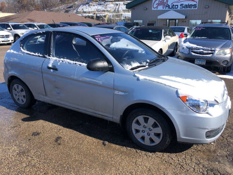 2008 Hyundai Accent for sale at Gilly's Auto Sales in Rochester MN