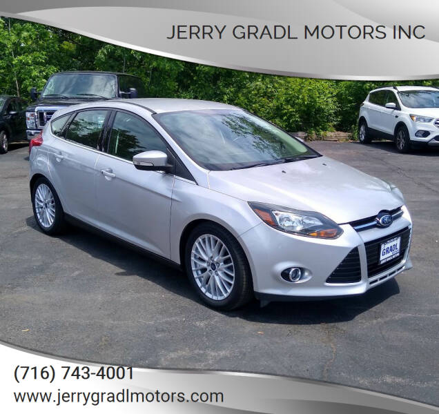 2014 Ford Focus for sale at JERRY GRADL MOTORS INC in North Tonawanda NY