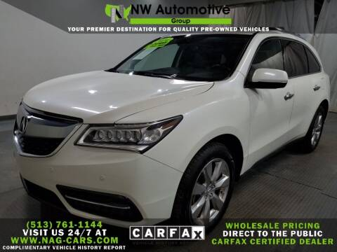 2014 Acura MDX for sale at NW Automotive Group in Cincinnati OH