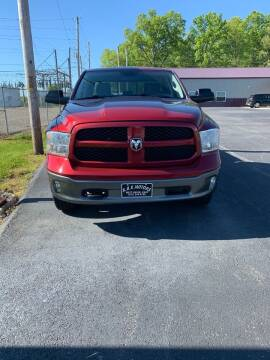 2013 RAM Ram Pickup 1500 for sale at RHK Motors LLC in West Union OH