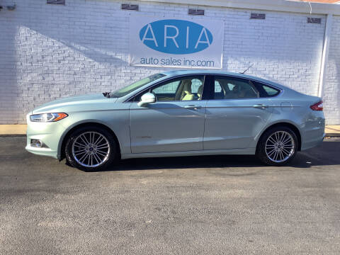 2013 Ford Fusion Hybrid for sale at ARIA  AUTO  SALES in Raleigh NC