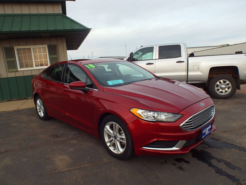 2018 Ford Fusion for sale at G & K Supreme in Canton SD