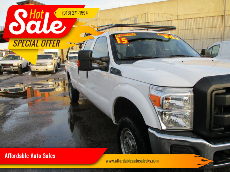 2015 Ford F-250 Super Duty for sale at Affordable Auto Sales in Olathe KS