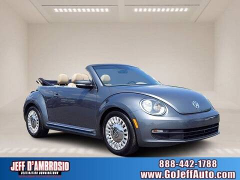 2013 Volkswagen Beetle Convertible for sale at Jeff D'Ambrosio Auto Group in Downingtown PA