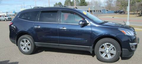 2017 Chevrolet Traverse for sale at The AUTOHAUS LLC in Tomahawk WI