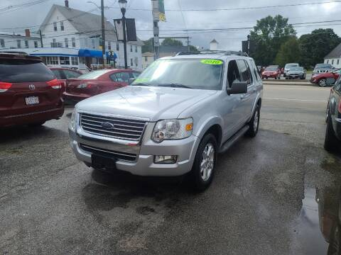 2010 Ford Explorer for sale at TC Auto Repair and Sales Inc in Abington MA
