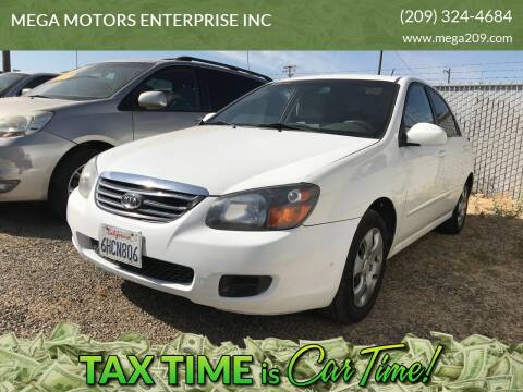 2009 Kia Spectra for sale at MEGA MOTORS ENTERPRISE INC in Modesto CA