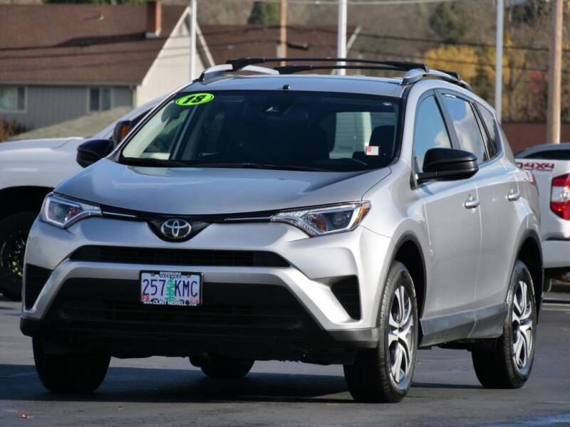 2018 Toyota RAV4 for sale at CLINT NEWELL USED CARS in Roseburg OR