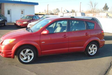 2005 Pontiac Vibe for sale at Tom's Car Store Inc in Sunnyside WA
