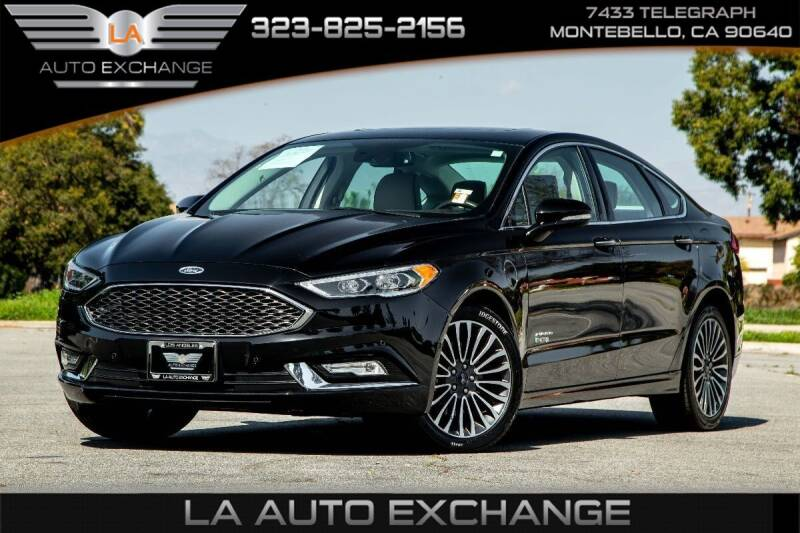 2017 Ford Fusion Energi for sale in Montebello, CA