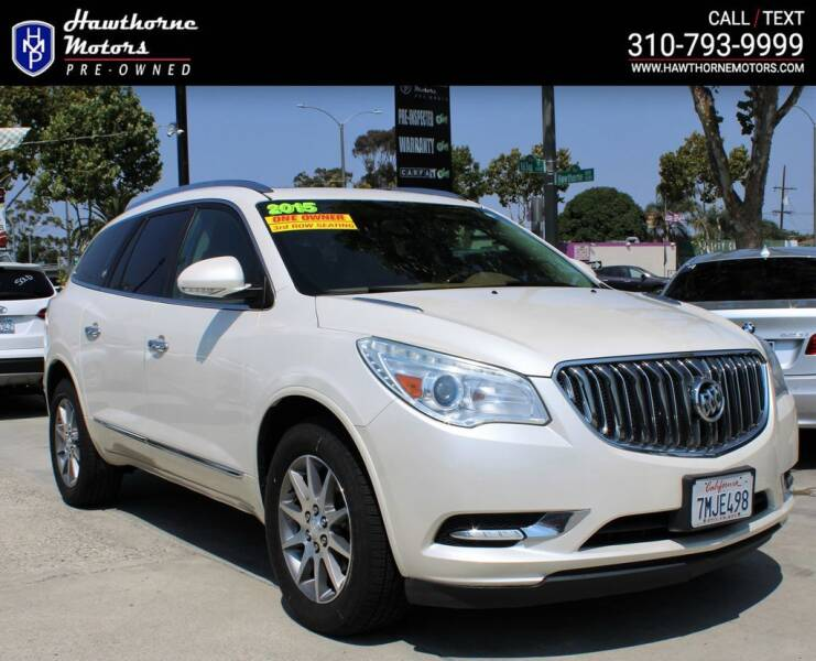 2015 Buick Enclave for sale at Hawthorne Motors Pre-Owned in Lawndale CA